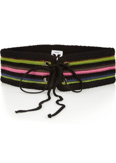M Missoni Woven cotton-blend belt