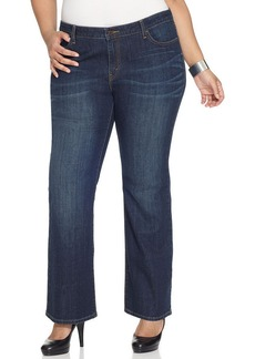 Levi's® Plus Size 590 Fuller Waist Bootcut Jeans, Oceana Wash