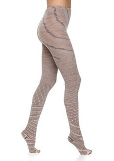 M Missoni Zigzag Stretch Wool-Knit Leggings, Pale Pink