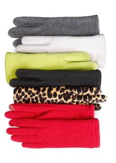 Style&co. Fleece Tech Touch Gloves