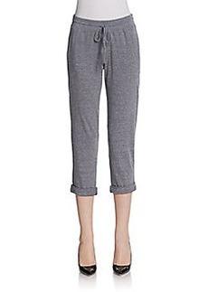 C&C California Tri-Blend Cropped Sweatpants