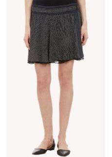 Proenza Schouler Striped Layered Mini Skirt