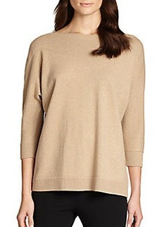 Lafayette 148 New York Metallic Sweater