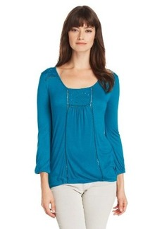 Lucky Brand Women's Cailey Cut Out Top