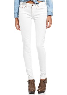 Levi's® Juniors' 535 White Wash Denim Leggings