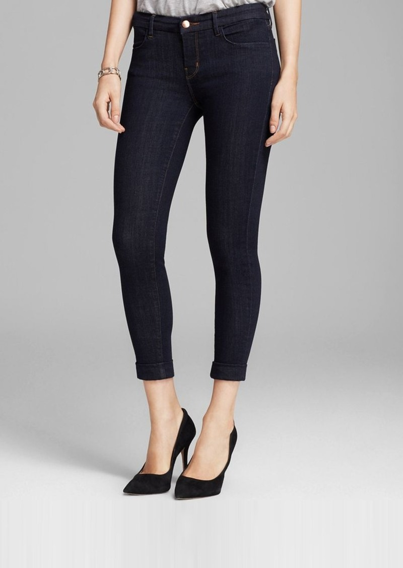 J Brand Jeans - Photo Ready 8020 Anja Cuffed Crop in Night Shadow