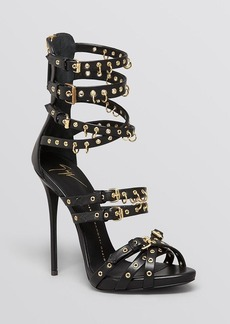 Giuseppe Zanotti Platform Ankle Strap Sandals - Coline High Heel