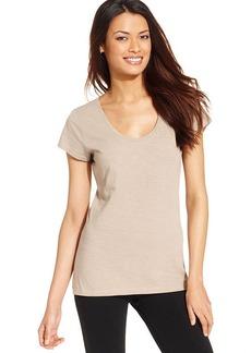 Style&co. Sport Short-Sleeve Scoop-Neck Tee