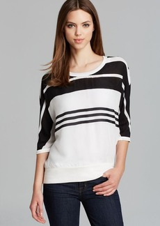 James Perse Sweatshirt - Striped