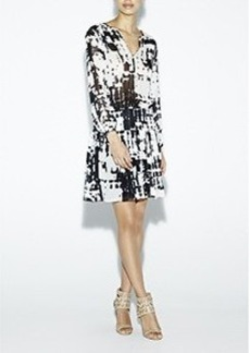 Wylie Inkblot Dress