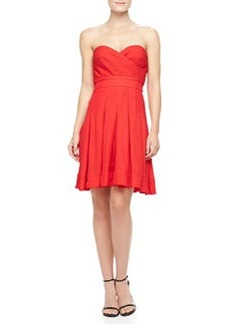 Catherine Malandrino Benita Strapless Sweetheart Dress