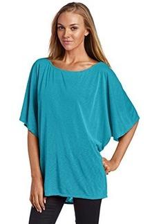 Michael Stars Women's Short Sleeve Off Shoulder Dolman Shirt