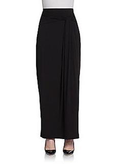 Saks Fifth Avenue BLACK Knot Maxi Skirt