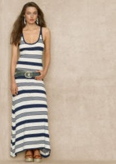Striped Racerback Maxidress