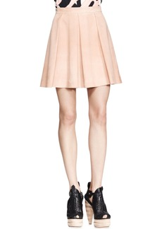 Proenza Schouler Pleated Leather Skirt