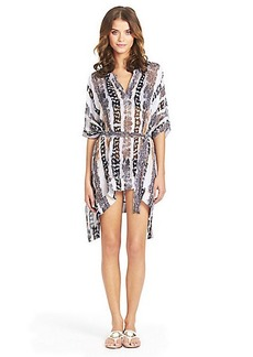 Lima Short Kaftan Beach Cover Up