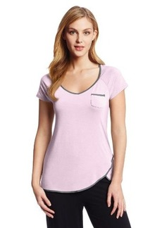 Jockey Women's Tulip Bottom Short Sleeved Top