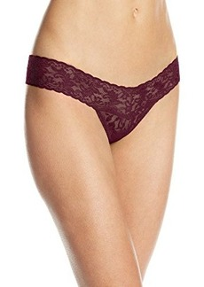Hanky Panky Women's Signature Lace Low-Rise Thong Panty