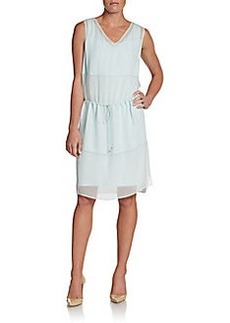 Elie Tahari Solara Drawstring Dress