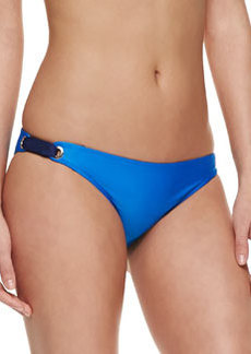 Splendid Bayside Solids Retro Swim Bottom, Blue