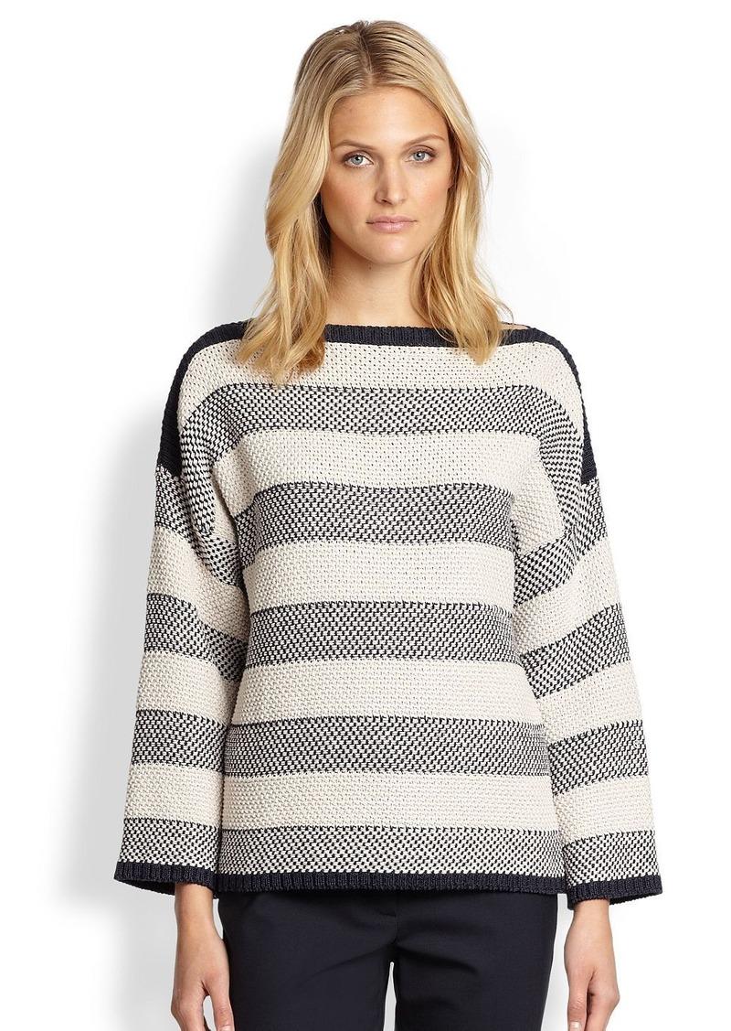 max mara weekend maxmara block striped sweater sweaters. Black Bedroom Furniture Sets. Home Design Ideas