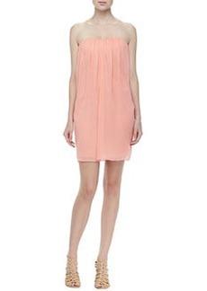 Jazz Strapless Chiffon Dress   Jazz Strapless Chiffon Dress