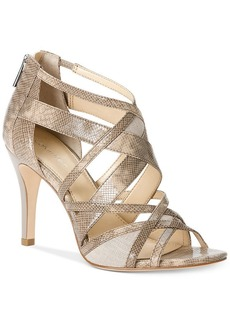 Calvin Klein Women's Kasandra Caged Sandals