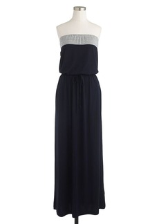 Amie maxidress in colorblock