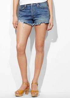 Levi's® Juniors Shorts, 501 Light Wash Cutoff