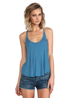 Rachel Pally Rib Mona Top in Blue