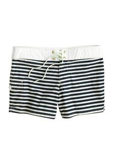 Sailor-stripe board short
