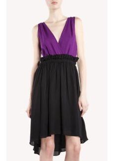 Cynthia Rowley Two-Tone Dress