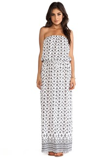 Joie Groovey Embroidery Printed Dress in White