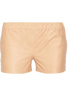 J Brand Lynn leather shorts