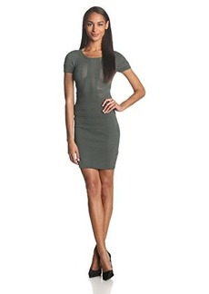 French Connection Women's Montana Muse Short Sleeve Dress