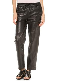 J Brand Ready-to-Wear Chapman Leather Trousers