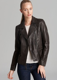 Marc New York Leather Jacket - Distressed