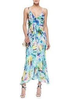 Cellophane Print Maxi Dress   Cellophane Print Maxi Dress