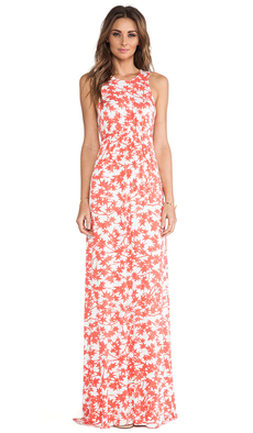 Rachel Pally Phillipa Printed Dress in Coral