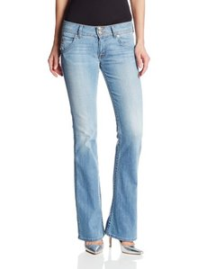 Hudson Jeans Women's Midrise Signature Boot Jean In I Got Soul