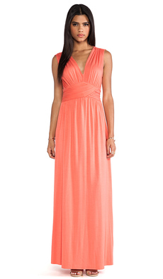 Rachel Pally Elizabeth Dress in Orange