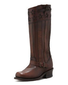Frye 150th Anniversary America Engineer Boot, Dark Brown
