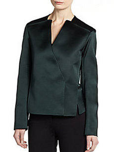Calvin Klein Collection Technical Asymmetrical Jacket