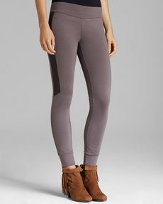 Free People Leggings - Texan Ponte Knit