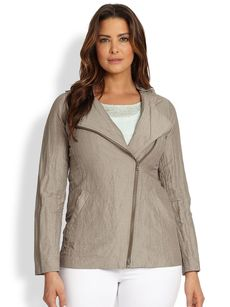 Eileen Fisher, Sizes 14-24 Lightweight Jacket