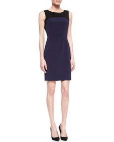 Suzie Boat-Neck Sheath Dress   Suzie Boat-Neck Sheath Dress