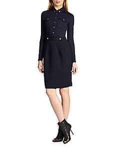 Burberry Brit Military Knit Dress