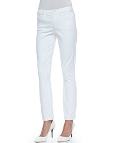 Billy All White Five-Pocket Pants   Billy All White Five-Pocket Pants