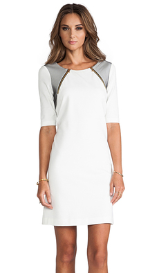 Trina Turk Milena Dress in White