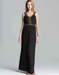 FRENCH CONNECTION Maxi Dress - Haute Jersey
